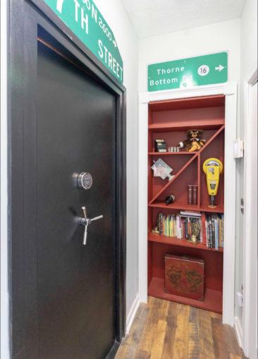 Hidden Room Closed Door