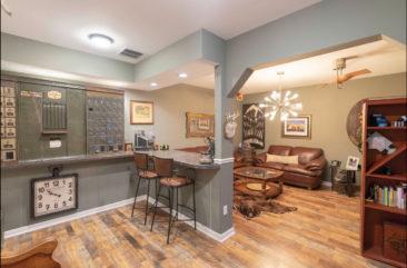 Basement Bar Hidden Room