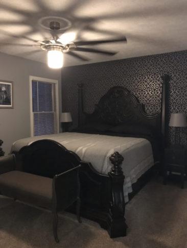California King Bed Master Bedroom
